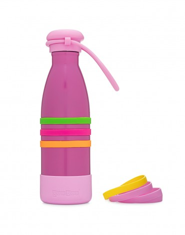 Yumbox Insulated Bottle - Pacific Pink