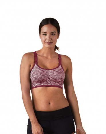 Body Silk Seamless Rhythm Nursing Bra - Rosewater