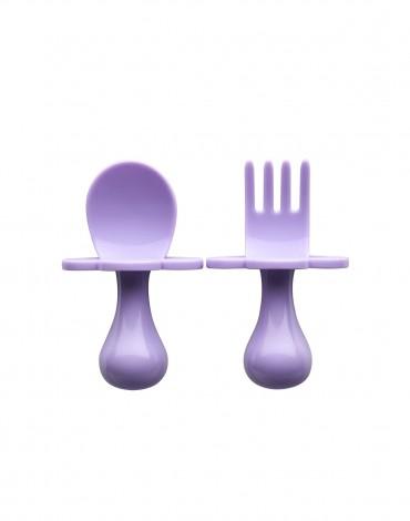 Lavender Ergonomic Utensils