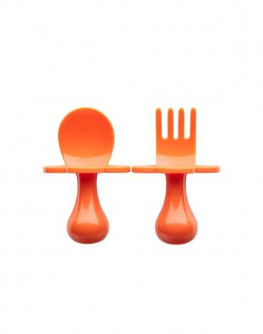 Orange Ergonomic Utensils