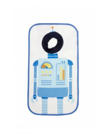Giant Bib Robot Print